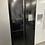 Thumbnail: (003) Hisense RQ560N4WB1 American Fridge Freezer - Black