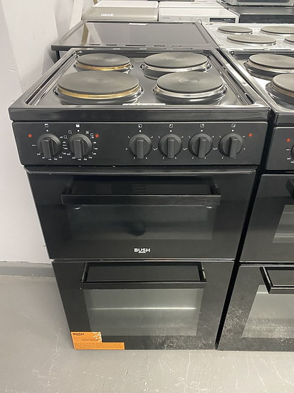 (66)Bush BETAW50B 50cm Twin Cavity Electric Cooker - Black