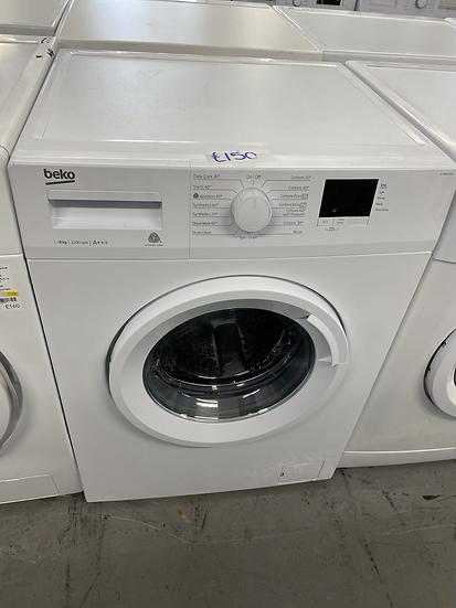 (361) BEKO WTB820E1W 8 kg 1200 Spin Washing Machine - White