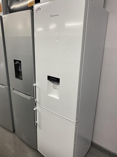 Fridgemaster MC55264D 70/30 Fridge Freezer White A+ Rated Water Dispenser