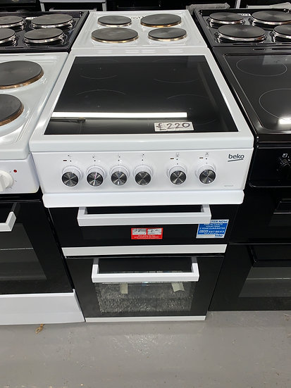 Beko ADC5422A 50cm Electric Cooker - White *GRADED*