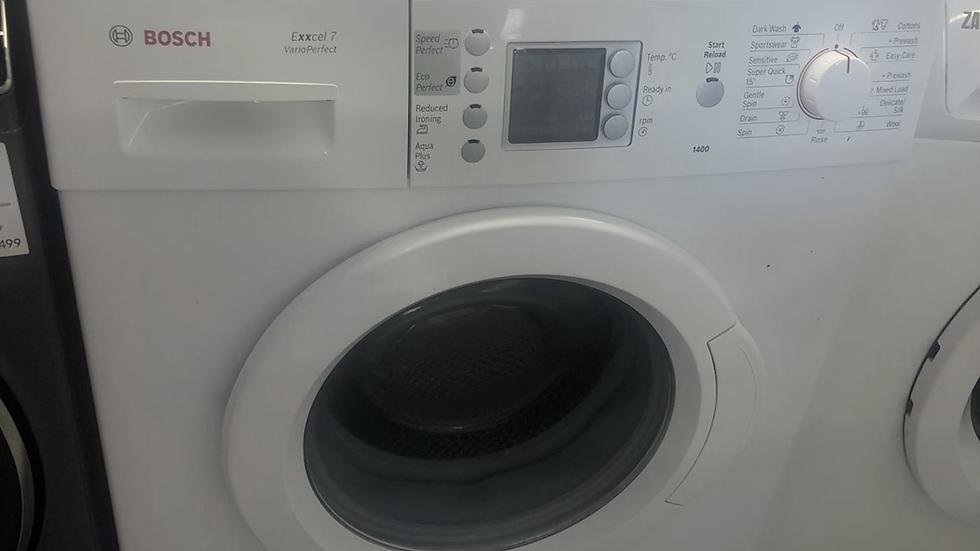 (180) Bosch WAE28469GB Exxcel 7kg Freestanding Washing Machine