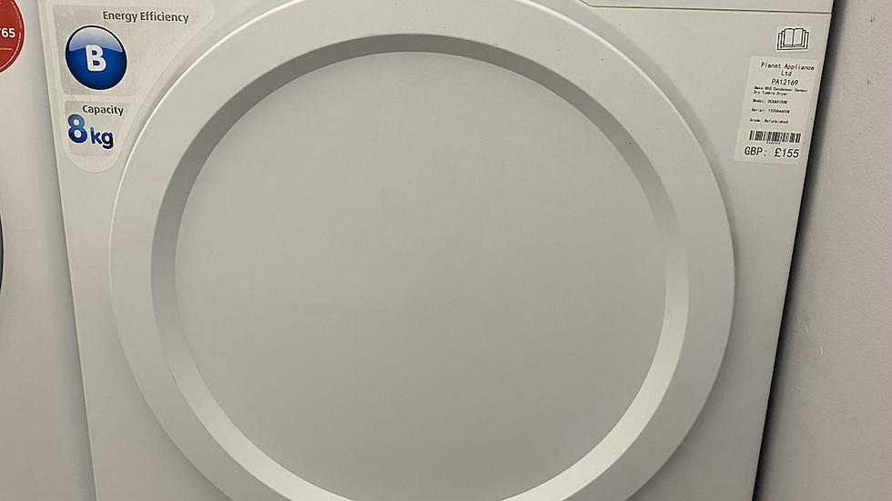 (131) BEKO DCX83100W Freestanding 8kg Condenser Tumble Dryer