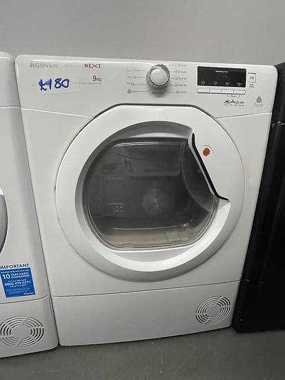 (093) Hoover DNCD813B-80 DNC D813B 8kg Condenser Tumble Dryer White