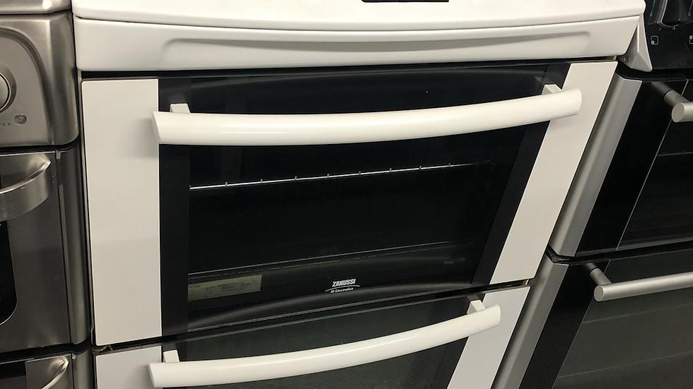 (986) Zanussi 60CM Electric Cooker - ZKC6020W