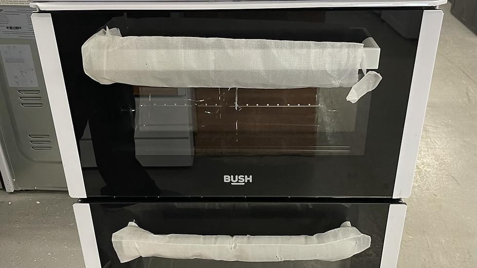 (062) Bush BETAW50W 50cm Twin Cavity Electric Cooker - White