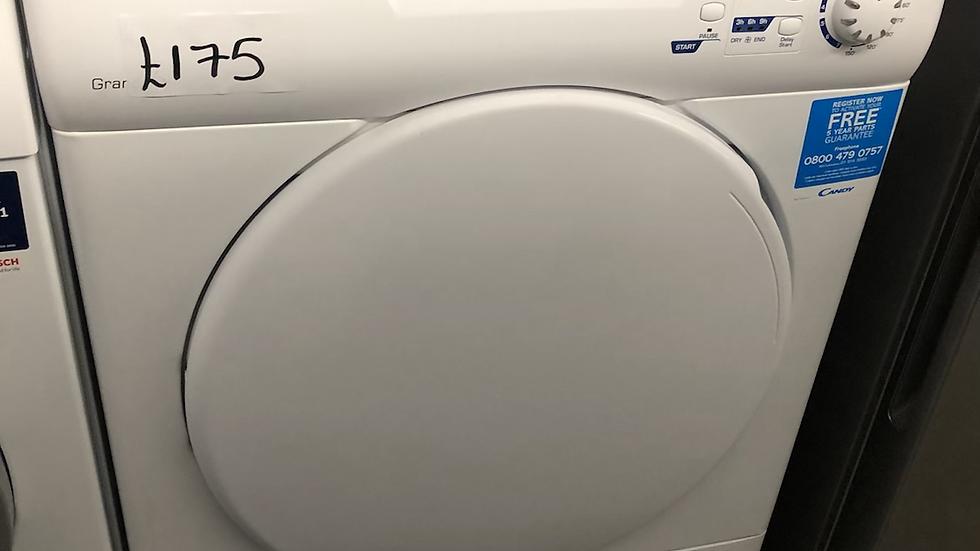 (565) Candy 9KG Condenser Dryer - GCC590NB-80
