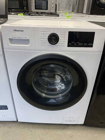Hisense WFPV7012EM 7Kg Washing Machine with 1200 rpm - White *GRADED*