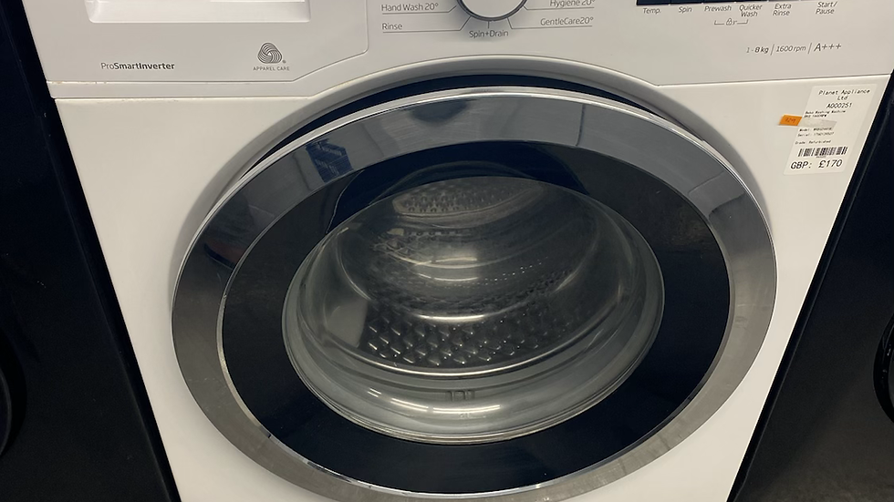 (729) Beko 8kg Washing Machine - WR860441W