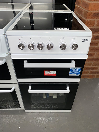 Beko ADC5422AW 50cm Electric Cooker  - White