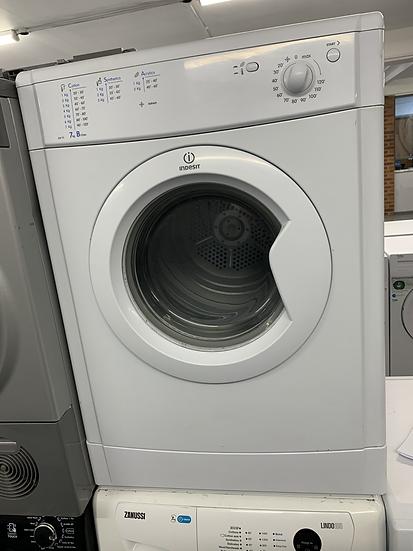 (700) Indesit 7KG Vented Dryer - IDV75