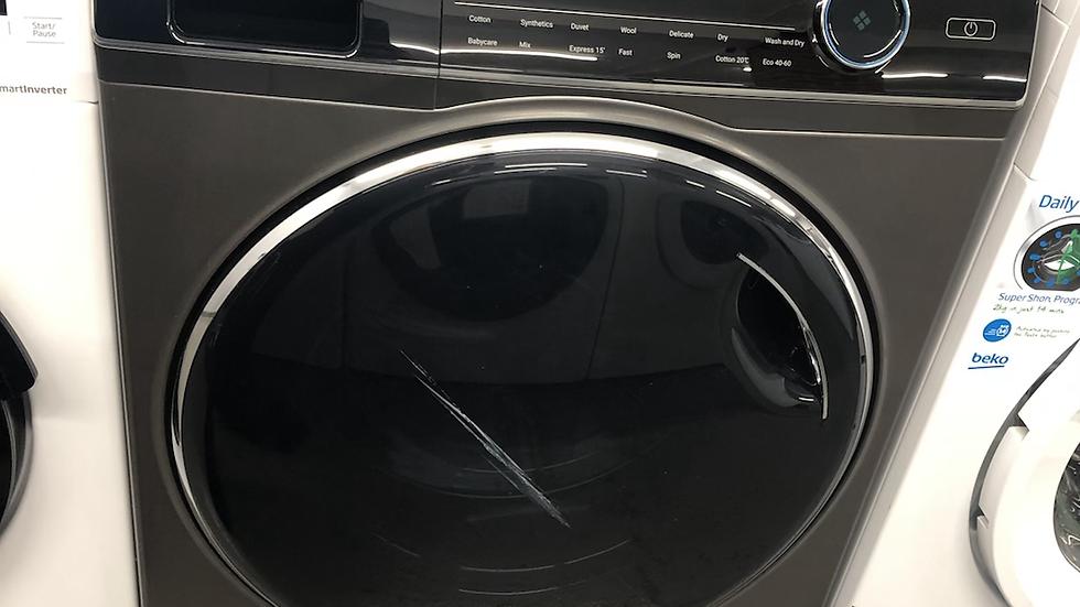 (557) Haier HWD100-B14979S 10Kg / 6Kg Washer Dryer with 1400 rpm - Graphite
