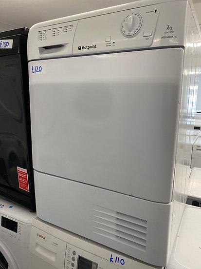 (123) HOTPOINT 8KG Tumble Dryer [CDN7000P