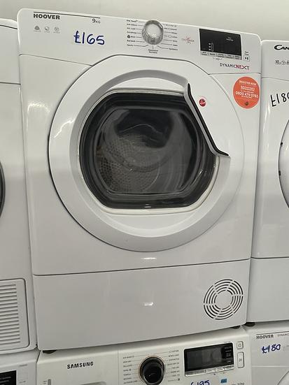 (105) HOOVER Dynamic Next DX C9DG NFC 9 kg Condenser Tumble Dryer - White