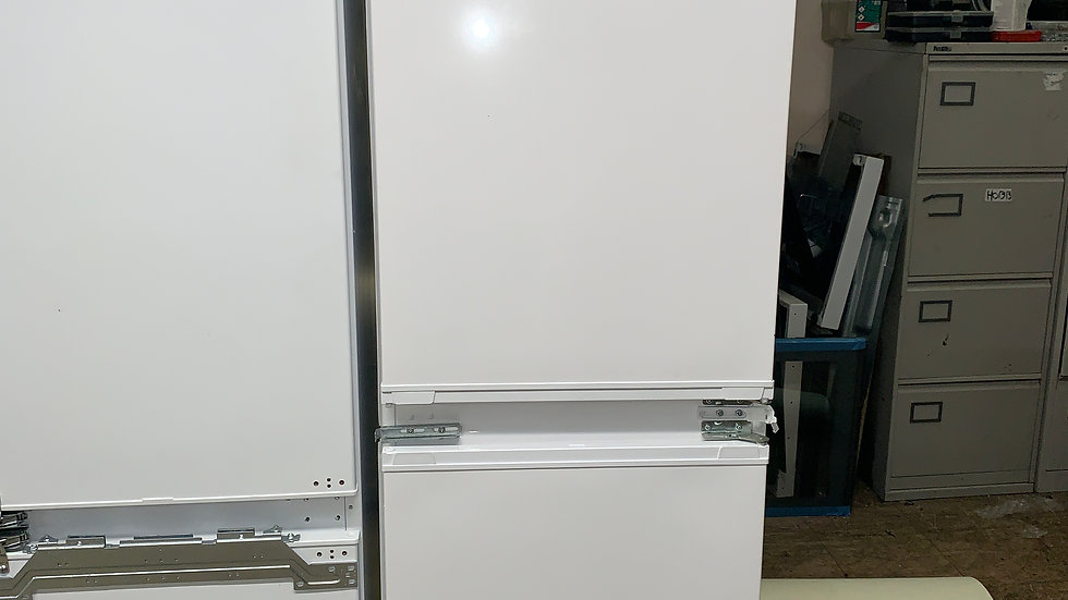 (594) Beko BCFD350 Integrated 50/50 Frost Free Fridge Freezer