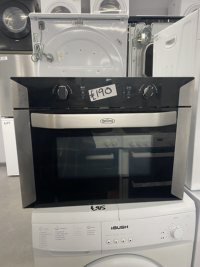 BELLING BI60COMW Built-in Combination Microwave - Black *GRADED*