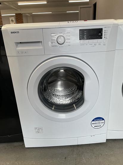 (527) Beko WMB71231W 7kg 1200rpm Freestanding Washing Machine - White