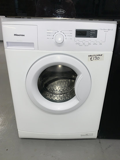 Hisense WFXE7012 7kg Washing Machine - White