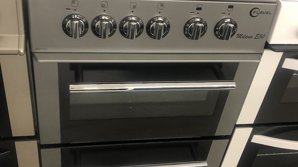 (790) Flavel 50cm Electric Cooker - MLB7CDS- Silver