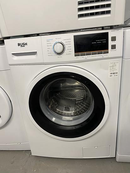(188) Bush WMNBX1016W 10KG 1600 Spin Washing Machine - White