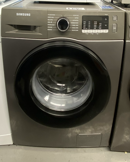 SAMSUNG ecobubble WW90TA046AX/EU 9 kg Washing Machine - Graphite *GRADED*