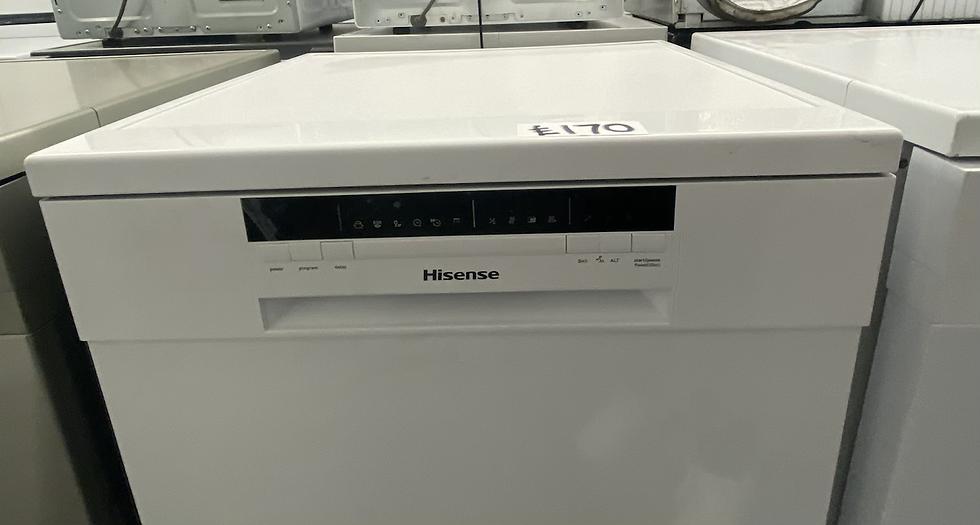 Hisense HS60240WUK Standard Dishwasher - White *GRADED*