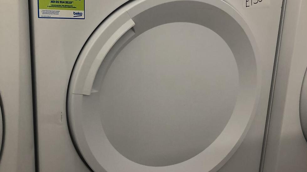 (151) Beko 8KG Condenser Dryer - DTGV8000W