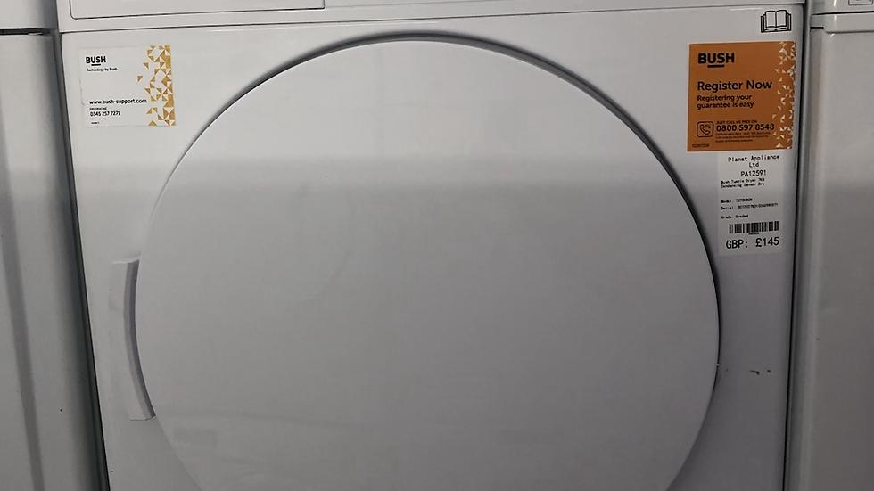 (799)Bush TD7CNBCW 7KG Condenser Tumble Dryer - White