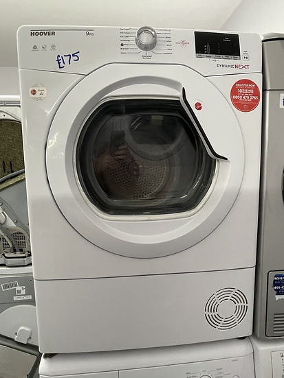 (106) HOOVER Dynamic Next DX C9DG NFC 9 kg Condenser Tumble Dryer - White