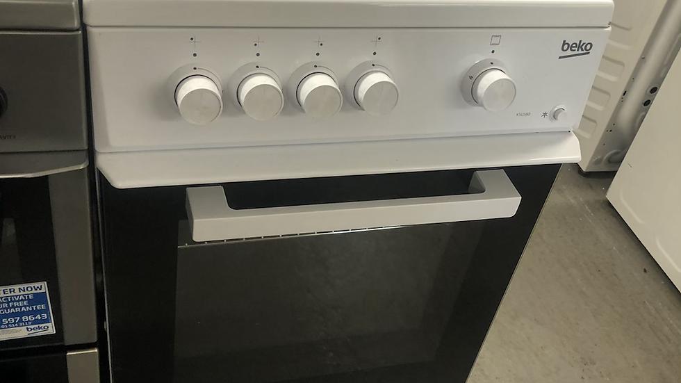 (895) Beko 50cm Gas Cooker - KSG580