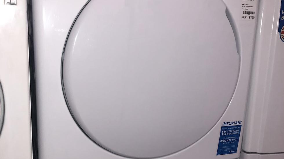 (922) Candy CSC8LF 8KG Sensor Dry Condenser Tumble Dryer - White