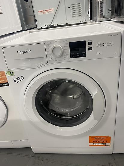 HOTPOINT NSWM863CW WASHING MACHINE - WHITE *GRADED*