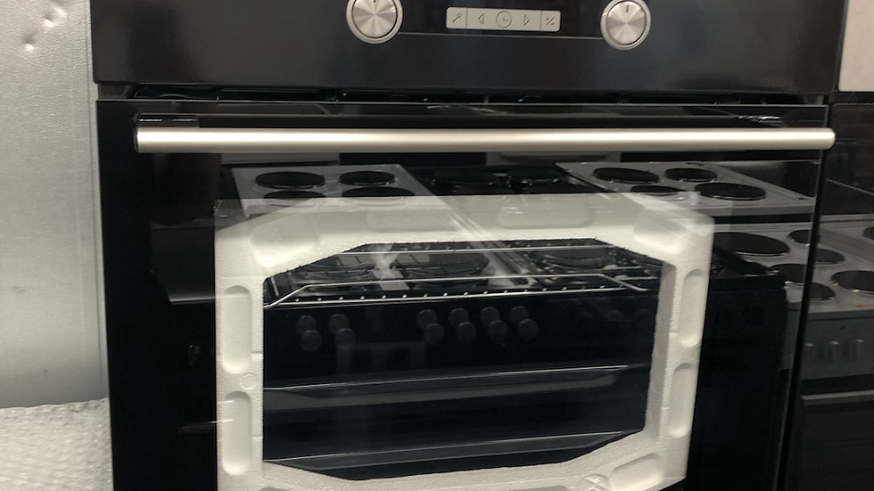 (360) HISENSE BSA5221ABUK Electric Oven with Even Bake & Steam Add - Black