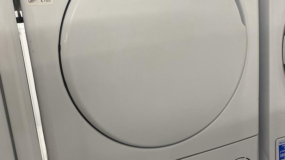 (722) Candy CSC8LF 8KG Sensor Dry Condenser Tumble Dryer - White