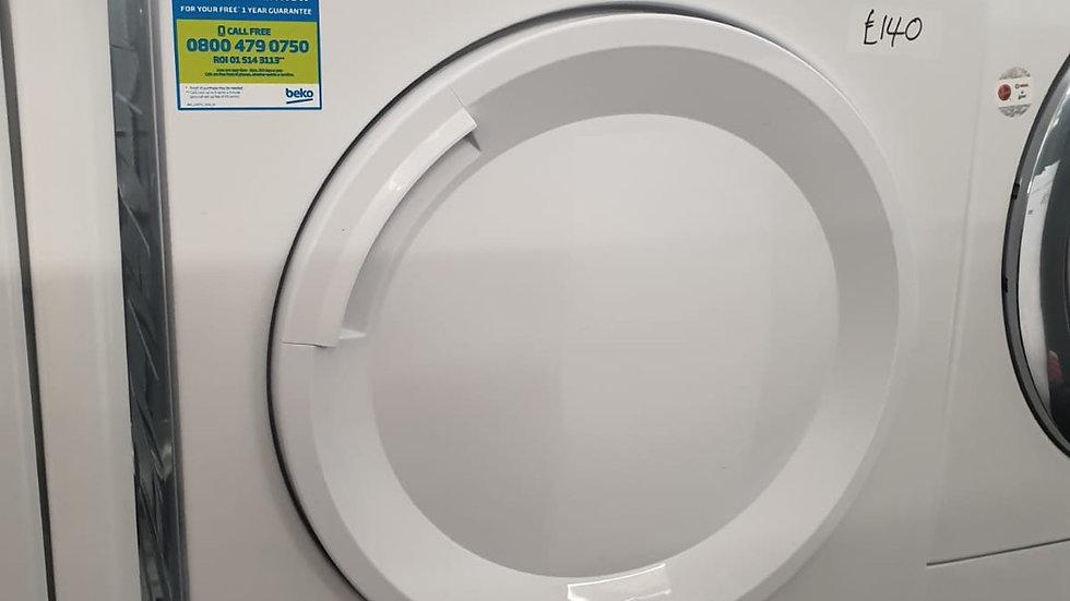 (855) Beko 8KG Condenser  Dryer - DTGC8001RW