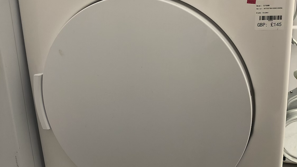 (444) Bush TD7CNBCW 7KG Condenser Tumble Dryer - White