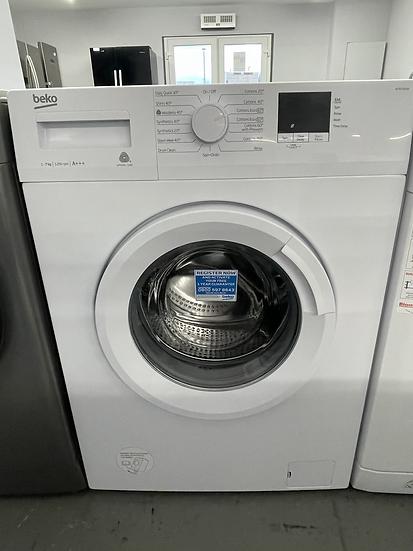 (541) BEKO WTB720E1W 7 kg 1200 Spin Washing Machine - White