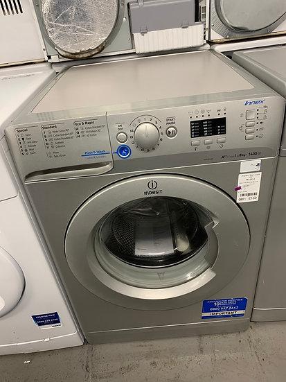 (584) indesit Freestanding front loading washing machine: 8kg XWA 81482X
