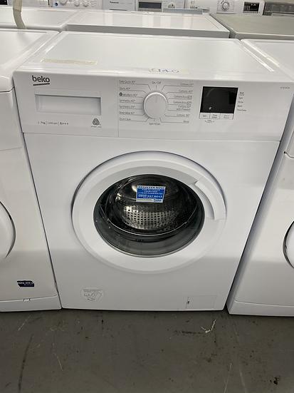 (197) BEKO WTB720E1W 7 kg 1200 Spin Washing Machine - White