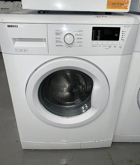 Beko WM74135W 7kg Washing Machine - White