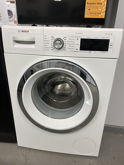 Bosch Logixx WAW32560GB Freestanding Washing Machine, 9kg Load, A+++