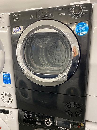 (122) Candy Gran Vita 9kG tumble Dryer [GUCD91CBB]