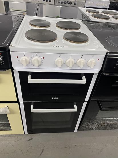 (77)Bush BETAW50W 50cm Twin Cavity Electric Cooker - White