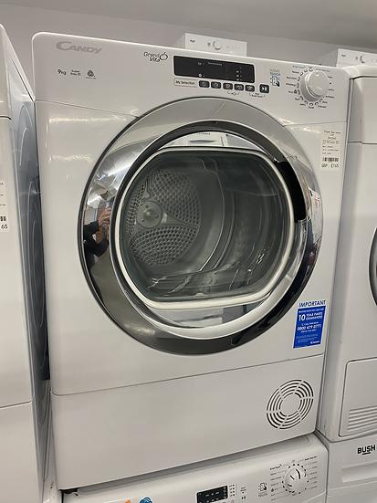 (218) Candy Grand'O Vita GVSC9DCG 9Kg Condenser Tumble Dryer - White - B Rated