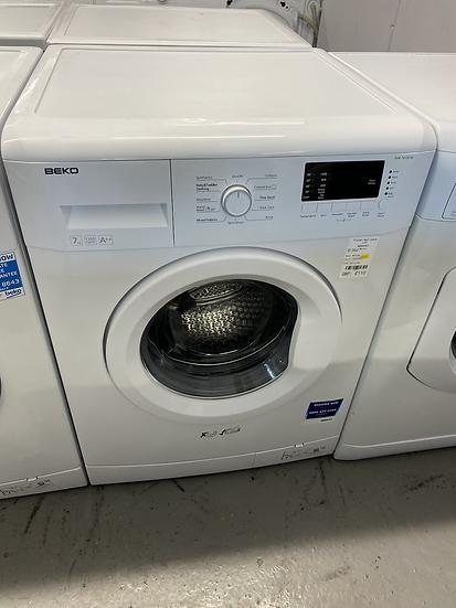 (366) Beko WM74135W 7kg 1300rpm Freestanding Washing Machine