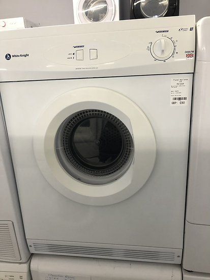 (435) WHITE KNIGHT C44A7W VENTED DRYER