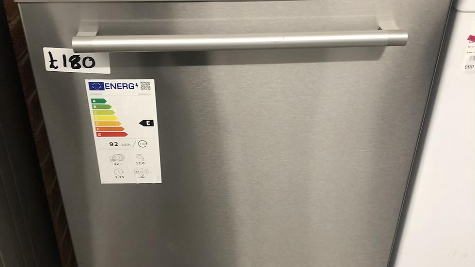 (412) Kenwood KDW60X20 Full-size Dishwasher, Inox