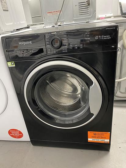 Hotpoint NSWM863CBS 8KG 1600 Spin Washing Machine - Black *GRADED*