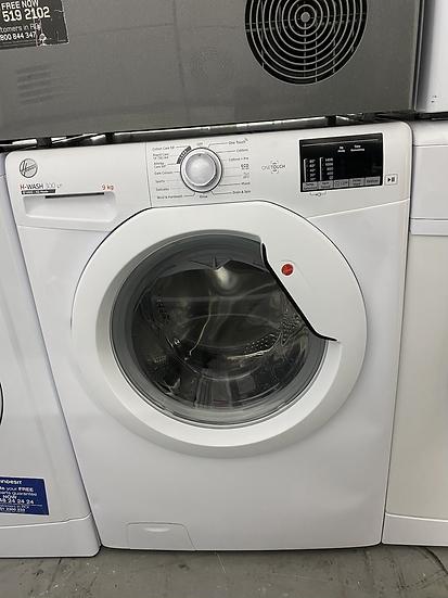 (193) Hoover H-WASH 300 H3W492DE/1 9Kg Washing Machine with 1400 rpm - White