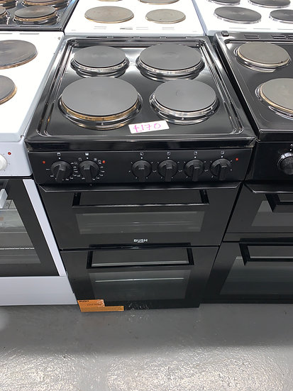 Bush BETAW50B 50cm Twin Cavity Electric Cooker - Black *GRADED*